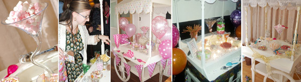 See our sweet buffets and candy cart hire