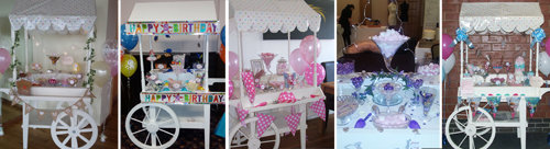 Candy cart for hire for any occasion