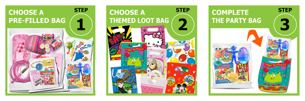 Pre Filled Party Bag Instructions At Partytogo Co Uk